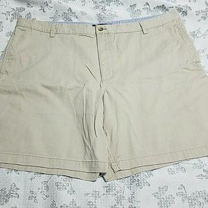 Men's CHAPS Flat Front Shorts sz 42